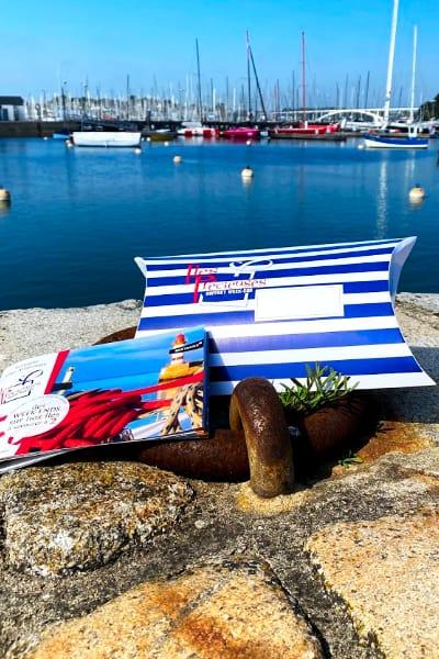 Coffret iles precieuse sur le port de la trinite sur mer